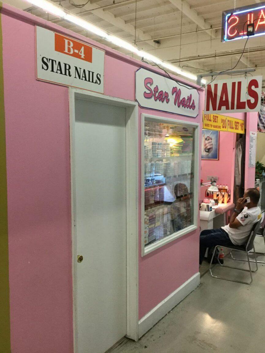 B-04 STAR NAILS - The Anaheim Indoor Marketplace